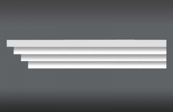 Vorhangschiene Decke LKO6A Gardinenleisten mit Blende
