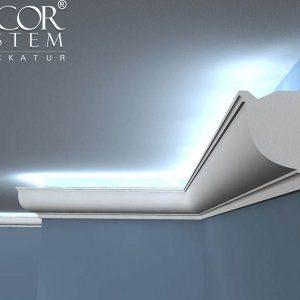 Gardinenstange Halterung Decke LO-10 Lichtleisten LED